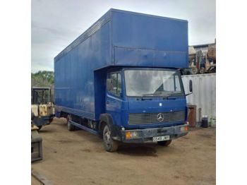 Box truck MERCEDES-BENZ 814 6 cylinder 7.5 ton low miles: picture 1