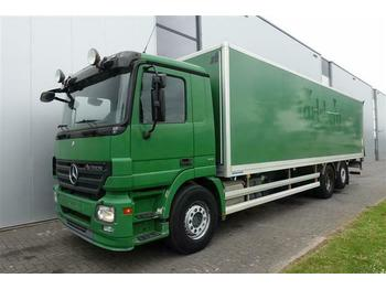 Mercedes-Benz ACTROS 2536 6X2 BOX AUTOMATIC FULL AIR EURO 5  - box truck