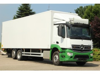Mercedes-Benz ANTOS 2532 KOFFER/LADEBORDWAND/EURO 6/138tkm!! - box truck