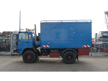 Box truck Renault M180 4x4 Turbo MIDLINER MANUAL GEARBOX 167.000KM