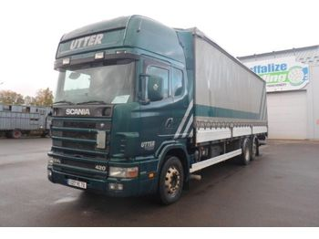 Scania 124 L 420 - Rail Sides - Lift - box truck