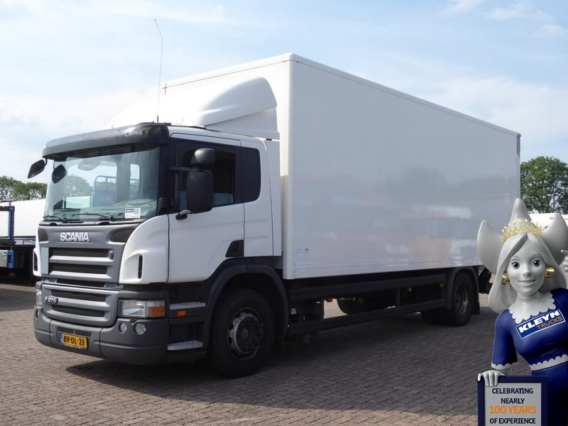 ce4fe6cbb2 Scania P270 CLOSED BOX TAILLIFT box truck