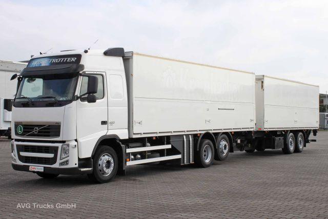 a9e57310a9 Box truck Volvo FH 420 6X2 Lenkachse
