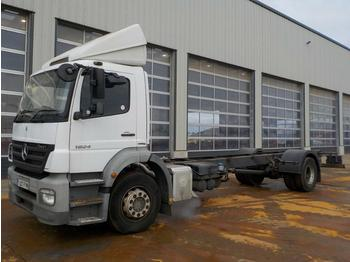 2007 Mercedes ATEGO 1824 - cab chassis truck