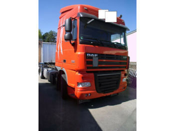 DAF XF 105.460 + Chassis + Top Zustand Reifen 80%  - cab chassis truck