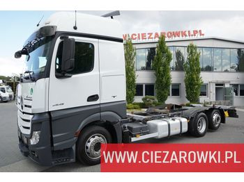 MERCEDES-BENZ Actros 2545 , E6 , 6x2 , Low Deck , BDF , retarder , StreamSpace - cab chassis truck