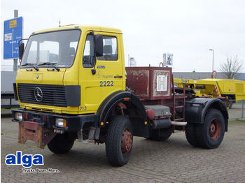 Mercedes-Benz 1922 AK 4x4, Allrad, Anbauplatte,wenig Kilometer  - cab chassis truck