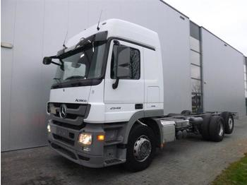 Mercedes-Benz ACTROS 2548 6X2 CHASSIS EURO 5  - cab chassis truck