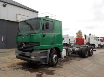 Mercedes-Benz Actros 2540 (FRONT STEEL SUSP / BIG AXLE / 6X2) - cab chassis truck