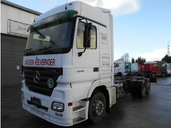 Mercedes-Benz Actros 2544 (6X2/ BELGIAN TRUCK) - cab chassis truck
