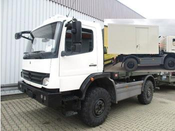 Mercedes-Benz Atego 1018 A 4x4 Atego 1018 A 4x4, Koffer mit Ambulanz Einrichtung - cab chassis truck