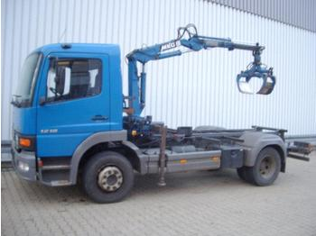 Cab chassis truck Mercedes-Benz Atego 1218 4x2 Atego 1218 4x2 mit Kran MKG HLK25