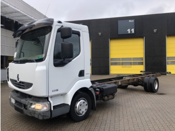 Renault Midlum 220 - cab chassis truck