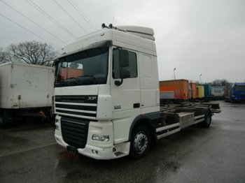 Container transporter/ swap body truck DAF FT XF 105.410 4x2 BDF,EEV + LBW
