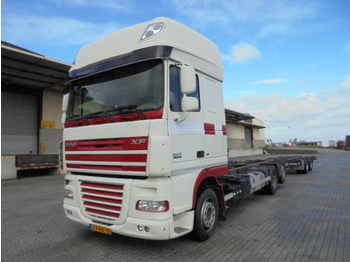 DAF XF105-410 SSC MANUAL - container transporter/ swap body truck