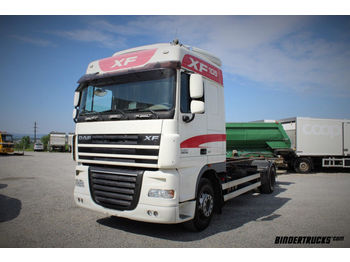 Container transporter/ swap body truck DAF XF 105.410 4x2