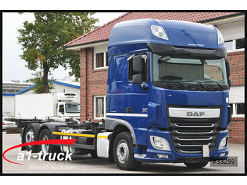 DAF XF 460 FAR, ACC, 2x AHK,  Intarder,  7.45/7.82,  - container transporter/ swap body truck