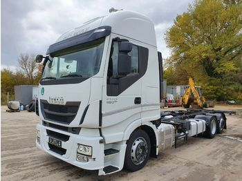 Iveco AS260S46  - container transporter/ swap body truck