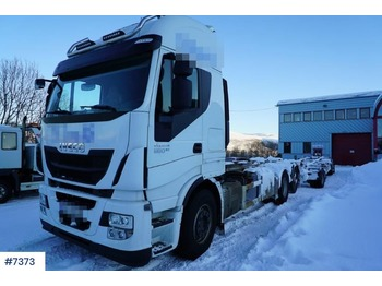 Iveco Stralis - container transporter/ swap body truck