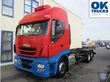 Iveco Stralis AS260S46Y/FPCM - container transporter/ swap body truck