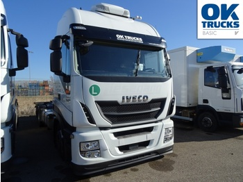Container transporter/ swap body truck Iveco Stralis AS260S46Y/FPGV