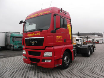 MAN 26.440 TGX ZF 16 Schaltgetriebe Retarder  - container transporter/ swap body truck