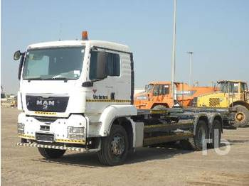 MAN TGS26.400 6x4 - container transporter/ swap body truck