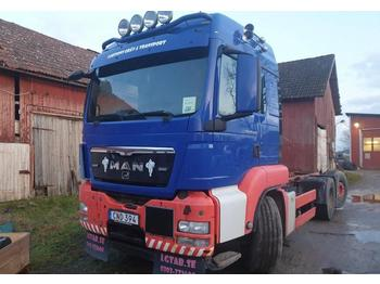 MAN TGS 26.480 6x2-2BL  - container transporter/ swap body truck