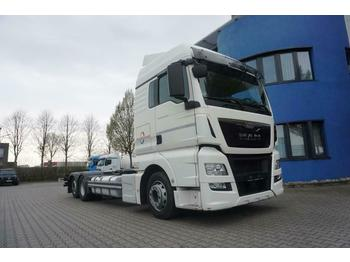 Container transporter/ swap body truck MAN TGX 24.440 6x2-2 LL-U XLX Ultra, Intarder