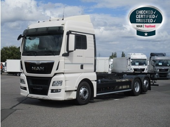 MAN TGX 26.480 6X2-2 LL, Euro 6, XLX, Intarder - container transporter/ swap body truck