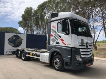MERCEDES-BENZ 2540 - container transporter/ swap body truck