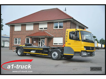 Container transporter/ swap body truck Mercedes-Benz 815 WBH 25 Kamag, Wiesel, Umsetzer,