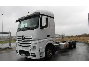 Mercedes-Benz 963-0-C ACTROS EURO 5  - container transporter/ swap body truck