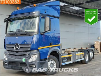 Container transporter/ swap body truck Mercedes-Benz Actros 2545 L 6X2 Retarder Euro 6 ADR