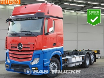 Mercedes-Benz Actros 2545 L 6X2 Retarder Standklima Ladebordwand ACC Euro 6 - container transporter/ swap body truck