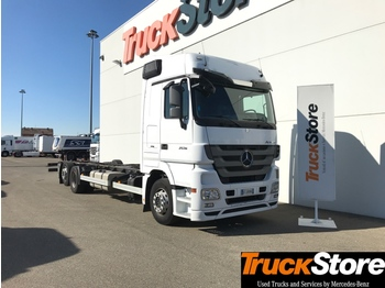Mercedes-Benz Actros 3 ACTROS 2536 L - container transporter/ swap body truck