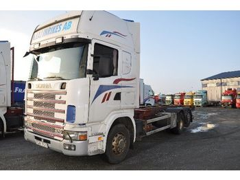 SCANIA 124 470 - container transporter/ swap body truck