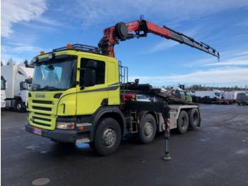 Container transporter/ swap body truck SCANIA P420