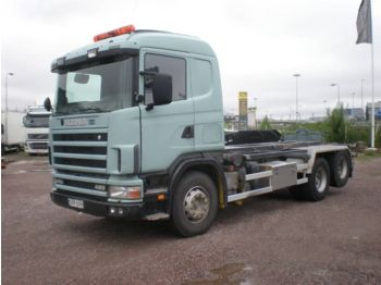 SCANIA R 144 GB 460 - container transporter/ swap body truck
