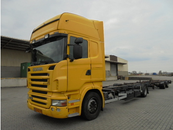 Container transporter/ swap body truck Scania 440 B 4X2