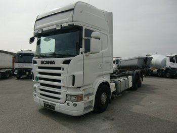 Container transporter/ swap body truck Scania 6x2 BDF, Ladebordwand, E4 Halbautomatik: picture 1
