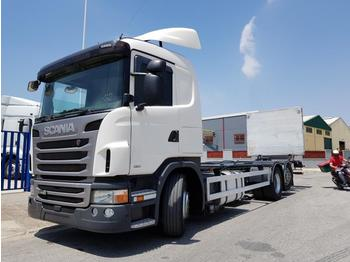 Scania G 440 - container transporter/ swap body truck