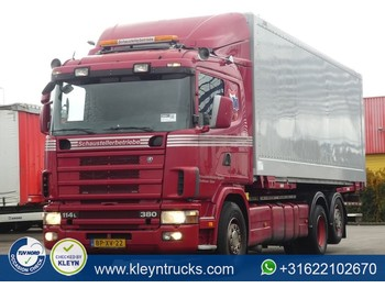 Scania P114.380 6x2*4 retarder - container transporter/ swap body truck