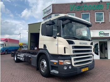 Container transporter/ swap body truck Scania P280B 4X2 BDF MIT LADEBORDWAND EURO5: picture 1