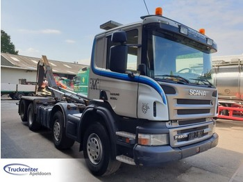 Scania P420, 8x2 + Robson, Manuel - container transporter/ swap body truck