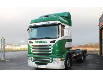 Scania R400LB6X2*4MNB  - container transporter/ swap body truck