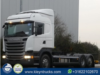 Scania R410 hl 6x2 mnb - container transporter/ swap body truck