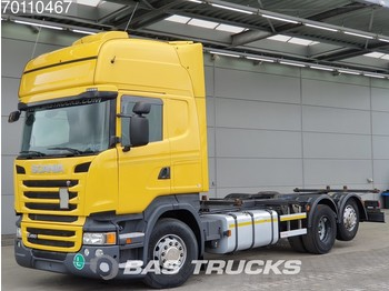 Scania R450 R450 6X2 Retarder Liftachse Standklima Euro 6 - container transporter/ swap body truck