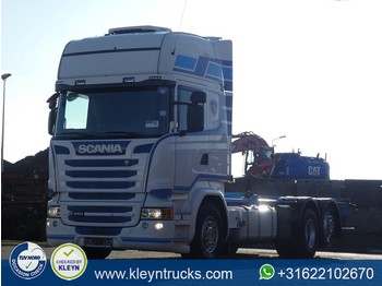Scania R450 tl 6x2*4 standklima - container transporter/ swap body truck