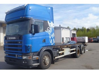 Scania R 164 GB 6X2 NB 580 - container transporter/ swap body truck